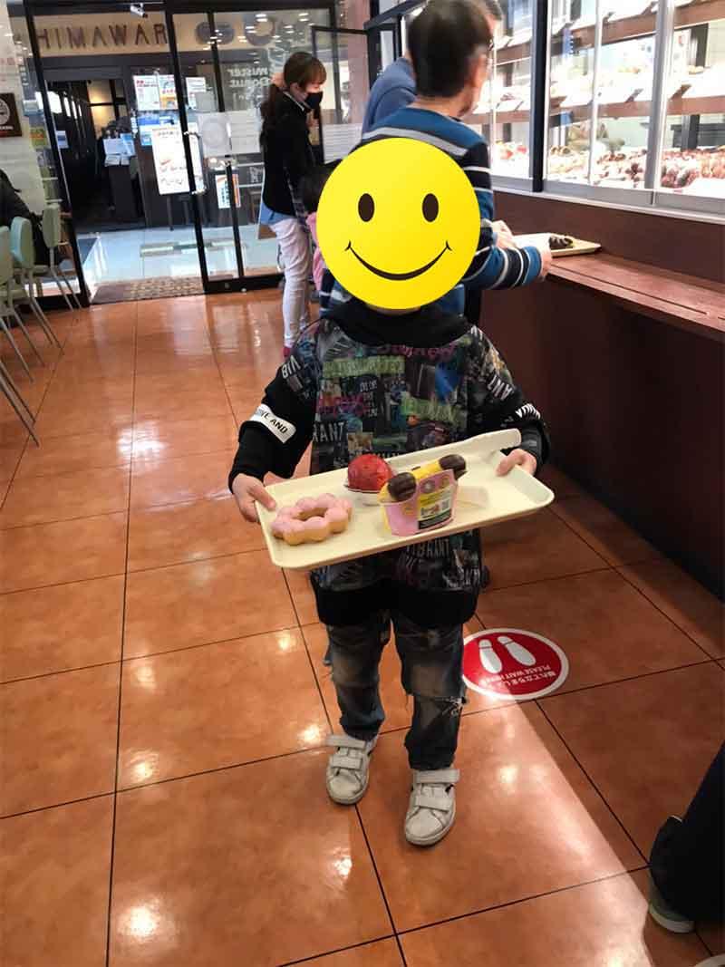 【じゅぴたぁ】ミスタードーナツを買いに行こう🍩