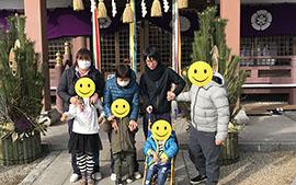 【じゅぴたぁ】初詣へ行って来ました!!