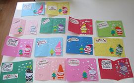 【ぽらりすデイ】クリスマスカード作り